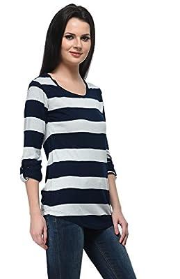 Frenchtrendz Women's Stripe Top