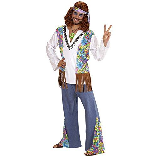 Widmann 56021 Erwachsenenkostüm Hippie, (Outfit Und Jahre 70er Ideen 80er)