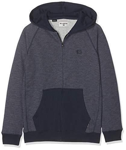 G.S.M. Europe - Billabong Jungen Balance ZH Boy Sweatshirtjacke Mit Kapuze, Midnight, 12 (Billabong Kapuze)