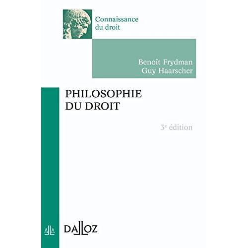 Philosophie du droit - 3e éd.: Connaissance du droit