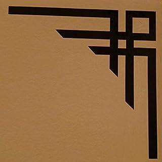 Advanced Printing Pair of Black Geometric Design Art Deco Style Corner LARGE Decoration Wall Stickers