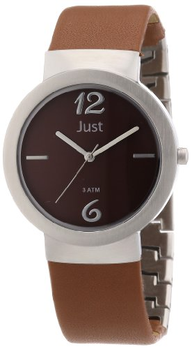 Just Watches 48-S4702-BR - Orologio da polso donna, pelle, colore: marrone