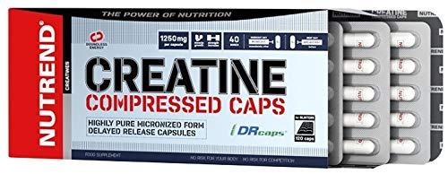 Nutrend Creatine Compressed Caps Kreatin 120 Kapseln
