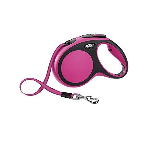 Flexi NEW COMFORT M pink GURT 5 m