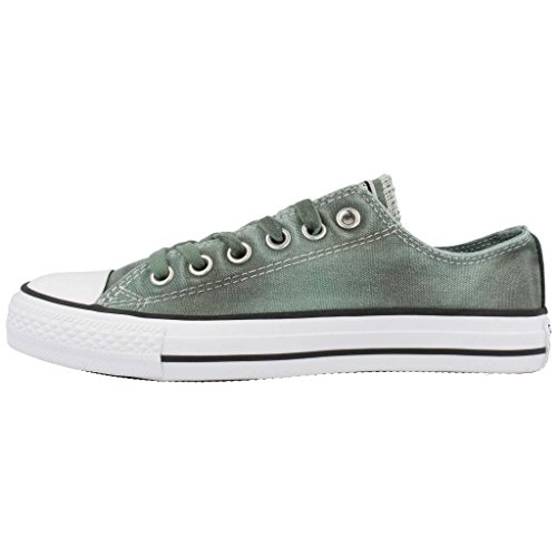 Converse - Converse Chuck Taylor Black wash All Star low OX Schuhe Sage Black White Chucks 549669C Schuhe Herren Damen Sage/Black/Wht