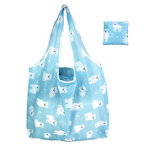 VIccoo Nette Reise-Faltbare Handtaschen-Lebensmittelgeschäft-Taschen-Speicher-Wiederverwendbare tragbare Einkaufstaschen - 5#