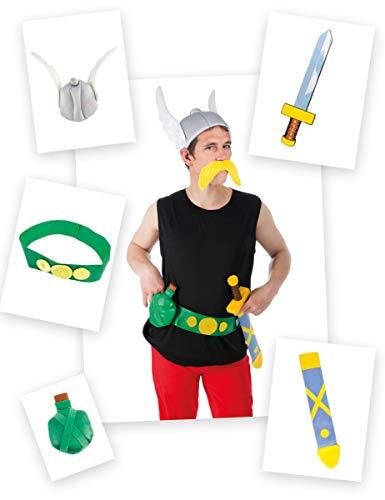 ccessoire-Set Asterix 5-teilig bunt (Kinderkostüm) ()