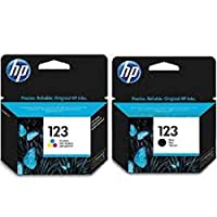 Hp Ink Cartridge 123 Combo (Black & Color_)