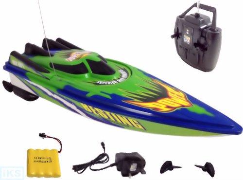 Preisvergleich Produktbild Venis C202 - RC ferngesteuertes Rennboot 27 MHz, Spielzeug inkl. Akku