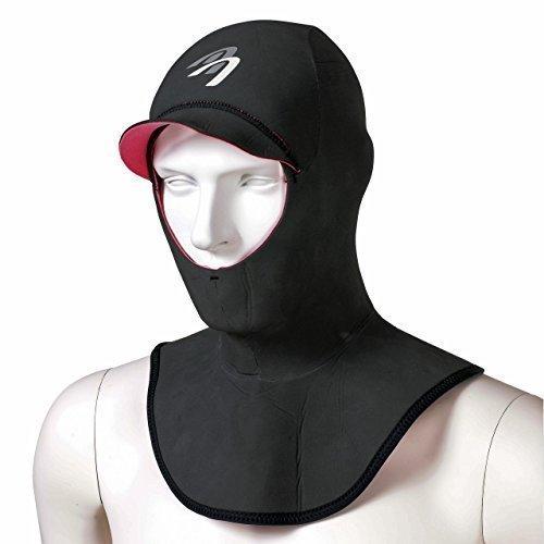 ASCAN Neoprenhaube Hood Comfort, L, schwarz