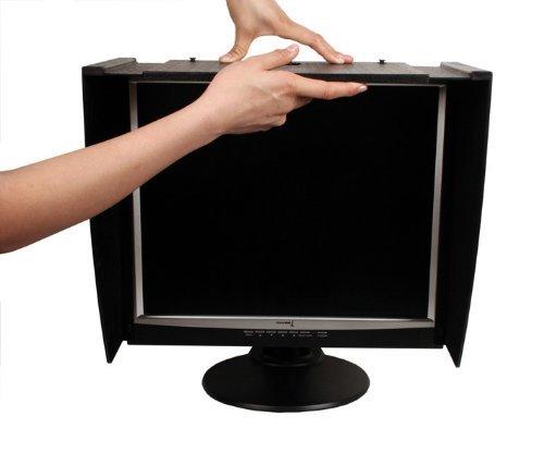 PChOOD Monitor Hood Pro für 38,1–66 cm Monitor