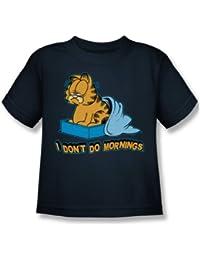 Garfield - - No hago mañanas Juvy camiseta en la marina de guerra