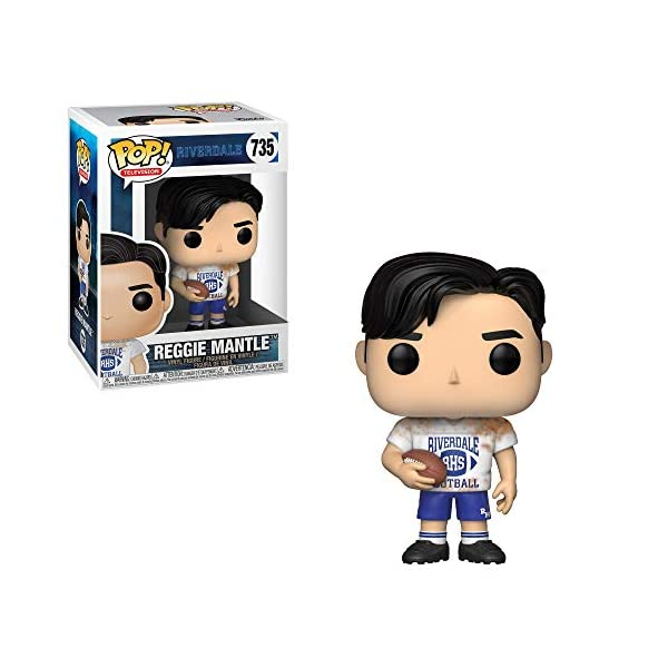 Funko Pop Reggie Mantle fútbol americano (Riverdale 735) Funko Pop Riverdale
