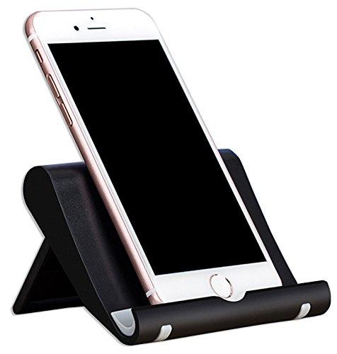 Lucklystar® Soporte De Móvil Plegable Universal Soporte Multi-ángulo De Tablet Accesorios Para Dispositivos Portátiles Ajustable De 0 A 270 Grados(Negro)