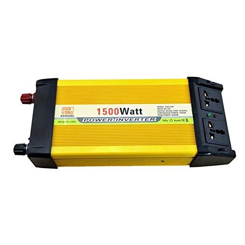 Topología de corta: Full puenteVoltaje de Salida de forma de onda: onda sinusoidal modificadaRango de tensión de entrada: 12(V)Voltaje de Salida: 220(V)Potencia de salida: 1500(W)Inverter Eficiencia: 90(%)Regulación de voltaje: 0,1(%)Regulación ...