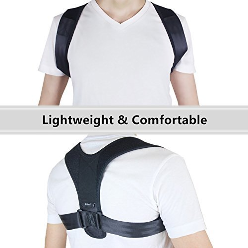 Zoom IMG-3 correttore postura schiena regolabile supporto