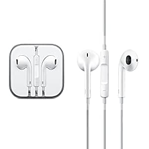AT Shopping Earphone/Handsfree/Headphone Compatible For Intex Cloud M6 16GB - White