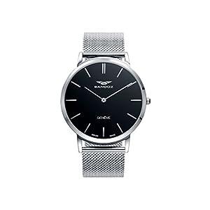 Reloj Sandoz Classic & Slim Caballero Malla milanesa