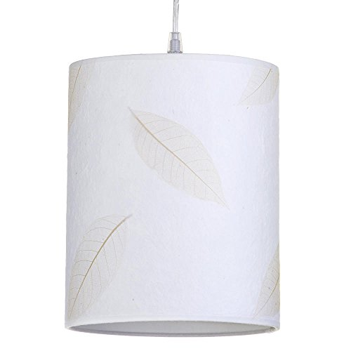 leafy-coarse-texture-easy-to-fit-cylinder-ceiling-shade-cream