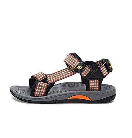 Camel Men's Outdoor Stylish Athletic Sandals Color Khaki Size 42