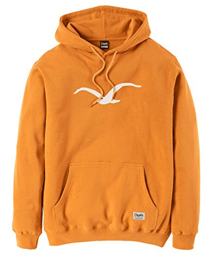 Cleptomanicx Herren Hoodie Golden Yellow