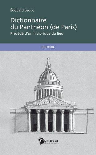 Dictionnaire du Panthéon (de Paris)