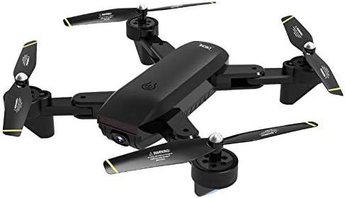 Sanmubo Samber TélécomFemmede Avion Drone Pliant WiFi Vidéo en Temps Réel TélécomFemmedé Quadcopter Rechargeable Avion 1080P HD Caméra Photographie Aérienne Flux Optique PositionneHommes t Ges