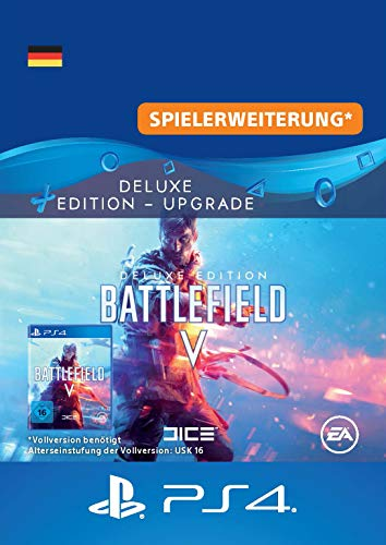Battlefield V Deluxe Edition Upgrade - DLC PS4 Download Code - deutsches Konto