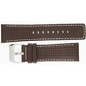 Festina Ersatzband Uhrenarmband Leder Band Braun F16363/2