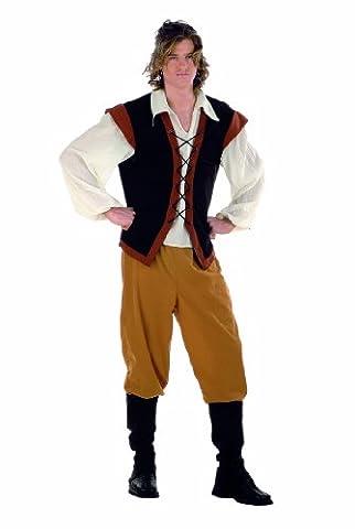 Cerf Costume Outfit - Limite médiévale Costume de cerf Taille