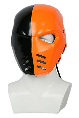 Kostüme Bane Cosplay (Halloween Maske Cosplay Kostüm Harz Voll Kopf Helm Season 5 Kleidung Zubehör für Erwachsene Verrücktes Kleid)