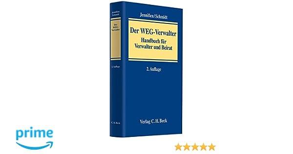 Der Weg Verwalter Handbuch Für Verwalter Und Beirat Amazonde