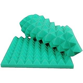 Akustik Pyramiden Schaumstoff Akustikschaumstoff 45x45x7 Grün P088_02