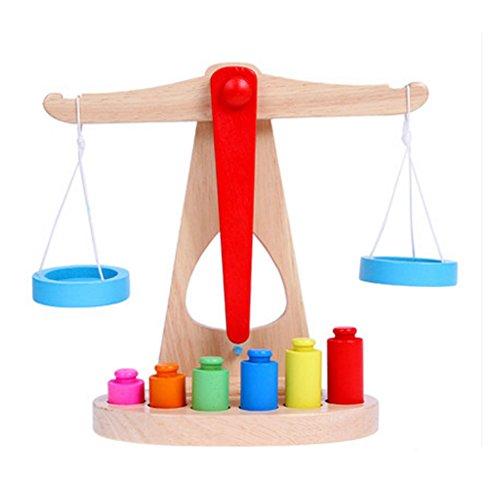 Hölzerne frühe pädagogische Multicolor Gleichgewicht Block-Spielwaren für Baby