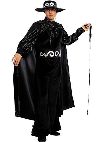 Unbekannt Stamco - Disfraces Zorro Don Diego Bandit Kostüm für Erwachsene