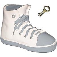 Preisvergleich für alles-meine.de GmbH 3-D Effekt _ Spardose - Schuh Sneaker / Sportschuh - Schuh - Grau - Incl. ..