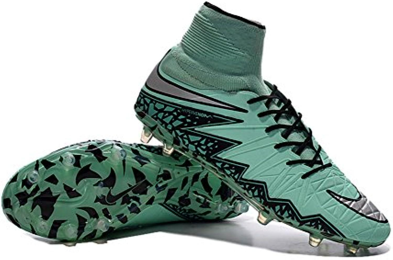 demonry Schuhe Fußball Soccer HYPERVENOM PHANTOM II FG grün Herren Stiefel