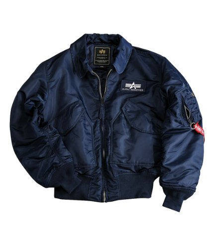 Alpha Industries - CWU 45 - Blouson Homme Bleu
