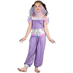 Reír Y Confeti - Fibdes029 - Disfraces para Niños - Árabe vestuario pequeña princesa - Chica - Talla M