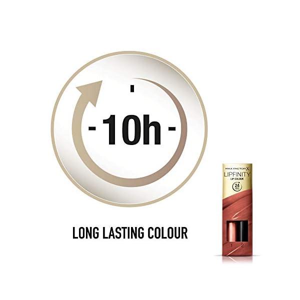 Max Factor Lipfinity Lip Colour Lipstick 150 Bare Dwufazowa pomadka do ust