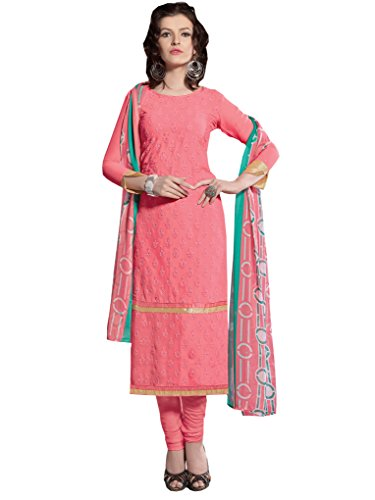 Salwar Kameez Dress Material For Women's ( VH FASHION Viscose embroidered Semi-stitched...