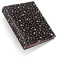 Miquelrius - Pack con 2 carpetas cartón, 4 anillas de 40 mm A4, ...