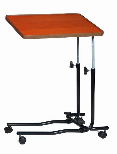 Drive Medical 946 - Mesa auxiliar para cama o silla con ruedas