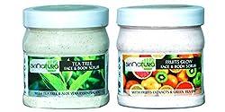 skinatura Tea Tree & Fruits Cream scrub