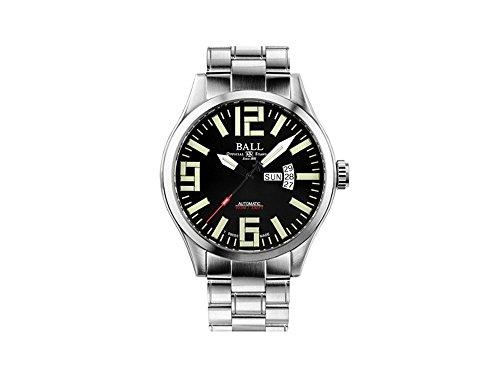 Ball Engineer Master II Automatik Uhr, 46 mm, Schwarz, Tag und Datum, Mu-metal