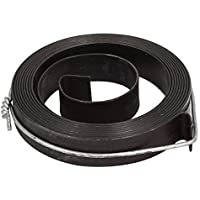 sourcingmap® 10mm de ancho Muelles de retorno de extensión gris para prensa taladradora 2 ganchos de restablecimiento automático