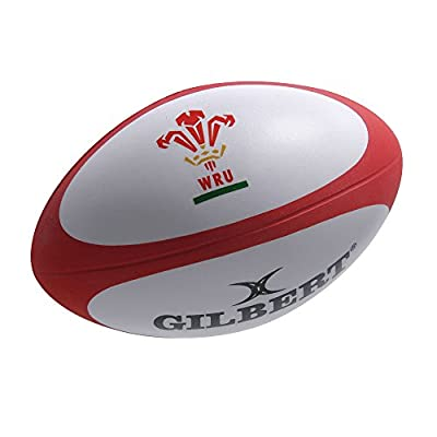 GILBERT wales rugby ball stress ball from Gilbert