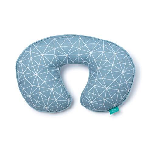 Urban Kanga Cuscino Cervicale da Viaggio per Bambini   Cuscino per Collo Neonati (Blu)