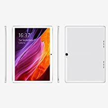 Cewaal 10.1 pulgadas 3G Wifi Tablet Octa Core, Android 6.0 2GB RAM + 32GB Memoria interna, Doble Cámara 1.9MP + 8MP, Dual SIM, Bluetooth WIFI, Google Play Store Youtube Netflix, IPS 1280x800, Plata