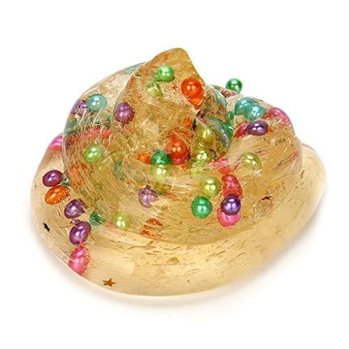 Honestyi Squishy Stress Spielzeug Squishies Große Kürbis crysta Jelly Toy Soft Slime duftenden Stress Relief Spielzeug Fun Schlamm Spielzeug